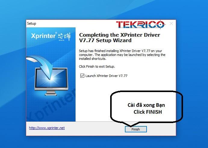 Hướng dẫn cài đặt driver máy in hóa đơn Xprinter Q80i, Q200