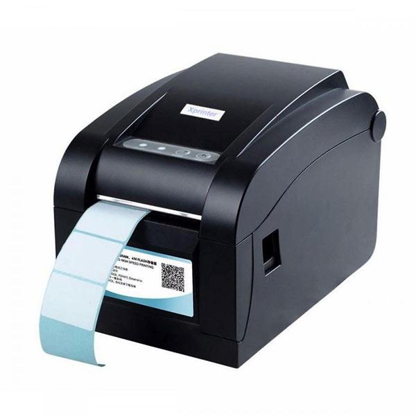 Máy in tem dán ly trà sữa Xprinter XP 350B