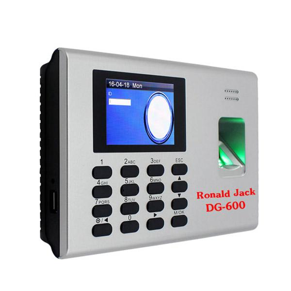 Máy chấm công Ronald Jack W600 Pin Lưu Điện 4h