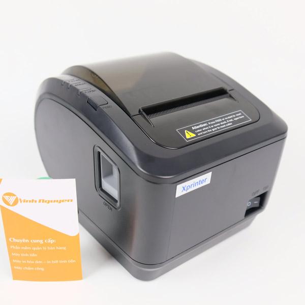 [Xả Kho] Máy in hoá đơn Xprinter XP-K200L [USB 200mm/s]